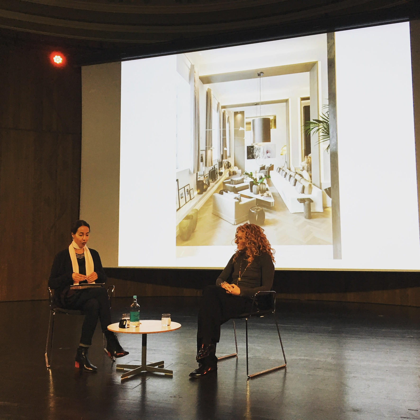 Kelly Hoppen in conversation with Michelle Ogundehin at the V&A