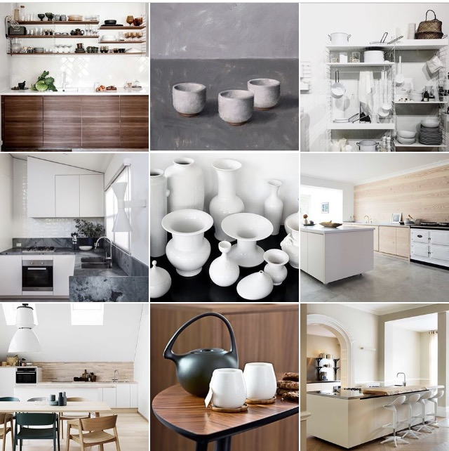 Kitchens @michelleogundehin instagram moodboard