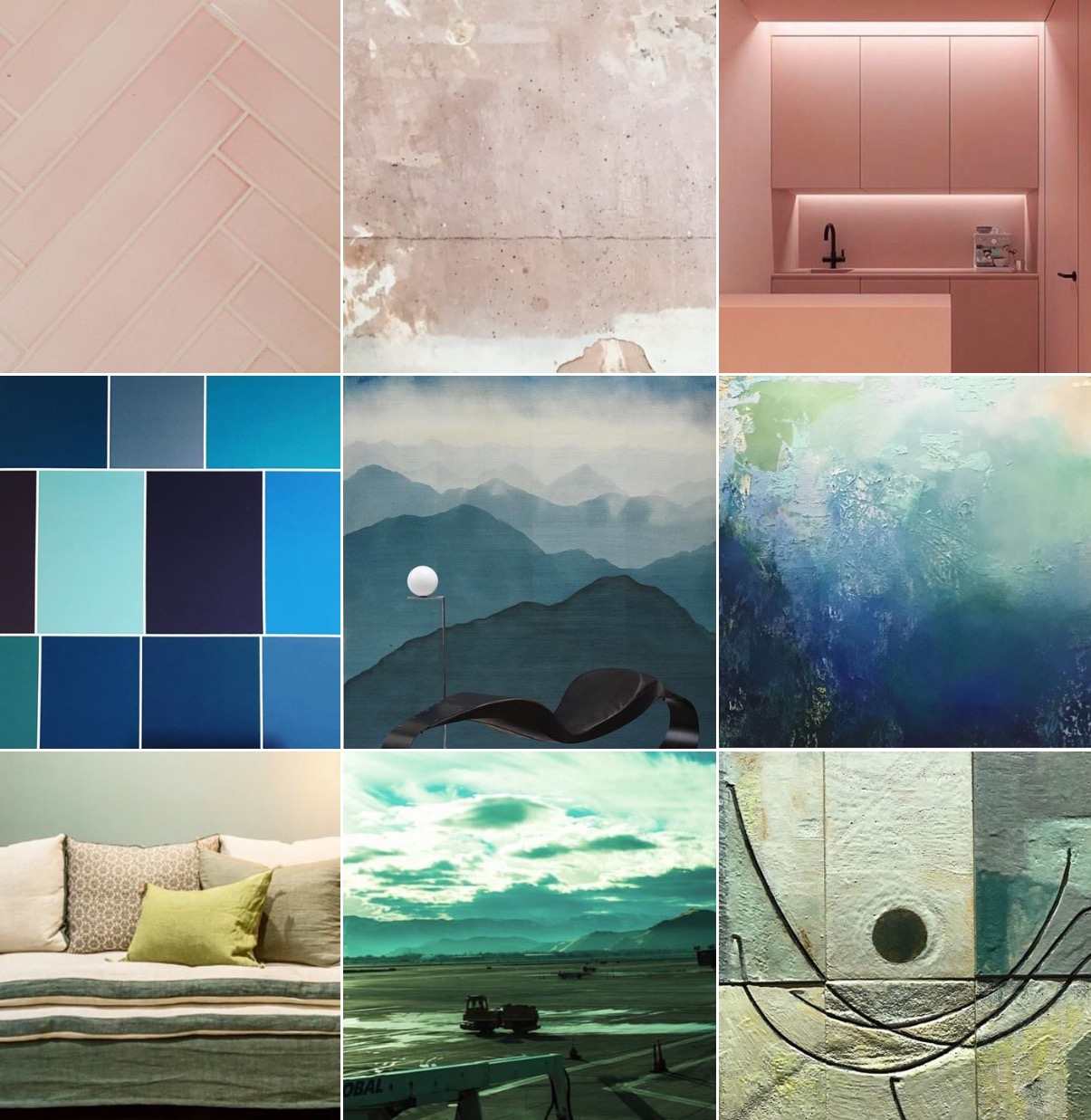 Spring Trends: The colours @michelleogundehin Instagram moodboard