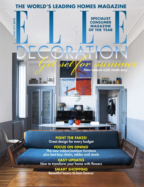 ELLE Decoration cover June 2012