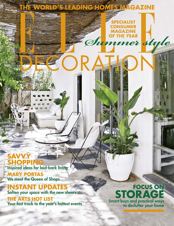 ELLE Decoration cover July 2012