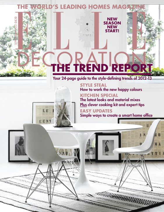 ELLE Decoration cover September 2012