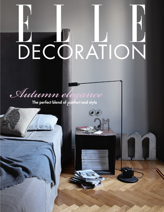 ELLE Decoration Subscriber cover October 2012