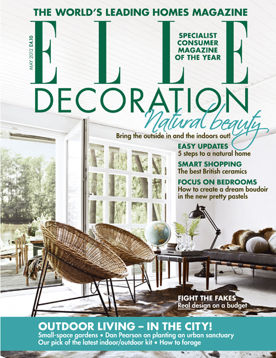 ELLE Decoration cover May 2012
