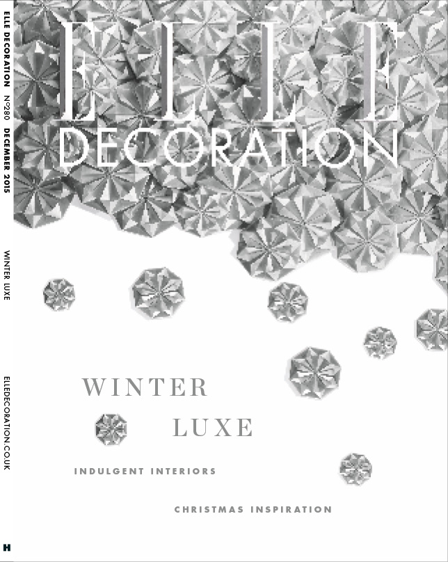 ELLE Decoration Subscriber cover December 2015