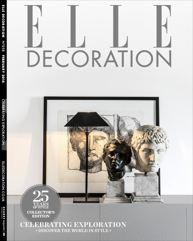 ELLE Decoration Subscriber cover February 2014