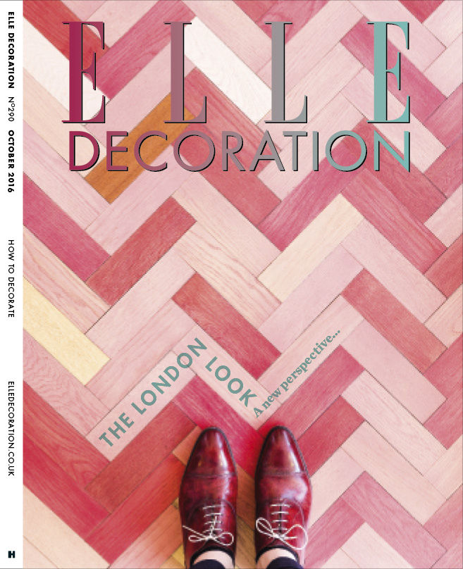 ELLE Decoration Subscriber cover October 2016