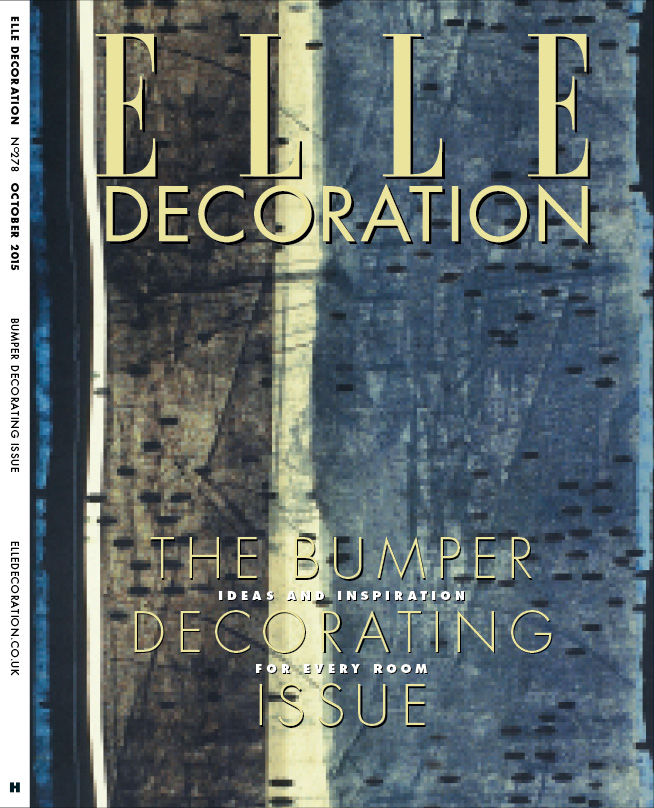 ELLE Decoration Subscriber cover October 2015