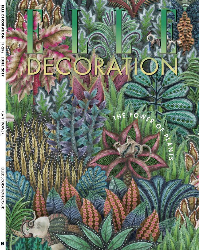 ELLE Decoration Subscriber cover June 2017