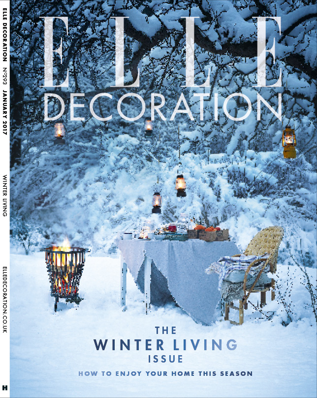ELLE Decoration Subscriber cover January 2017