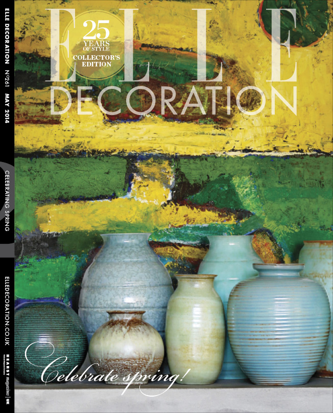 ELLE Decoration Subscriber cover May 2014