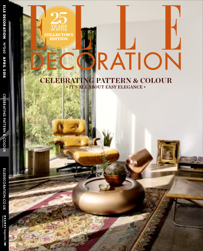 ELLE Decoration Subscriber cover April 2014