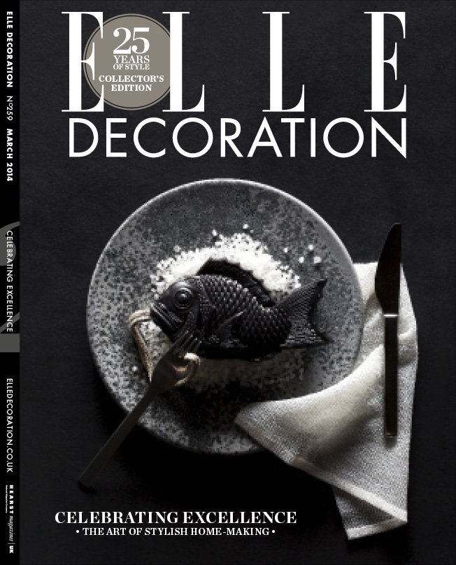 ELLE Decoration Subscriber cover March 2014