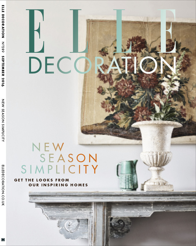 ELLE Decoration Subscriber cover September 2016
