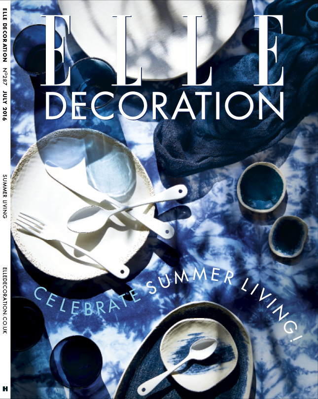 ELLE Decoration Subscriber cover July 2016