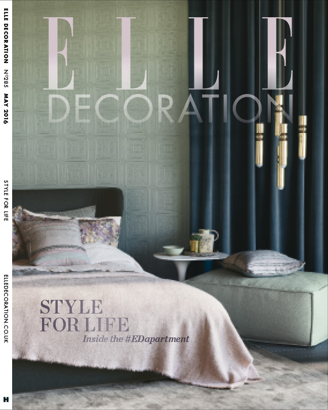 ELLE Decoration Subscriber cover May 2016