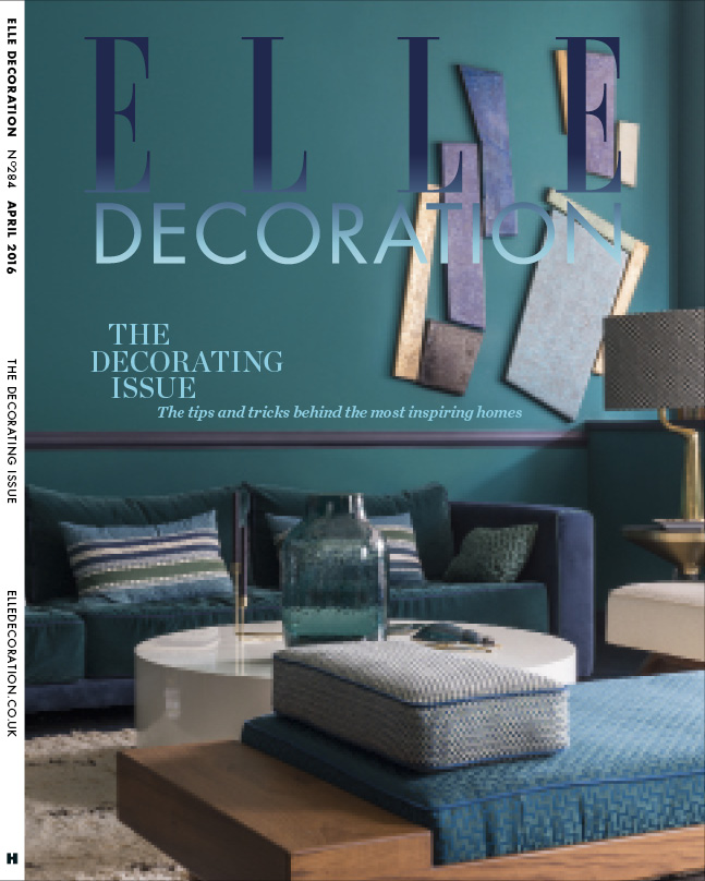 ELLE Decoration Subscriber cover April 2016