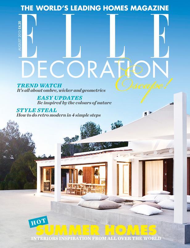 ELLE Decoration cover August 2013