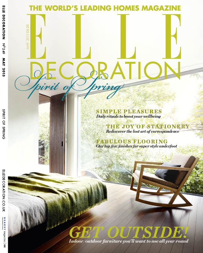 ELLE Decoration cover May 2013