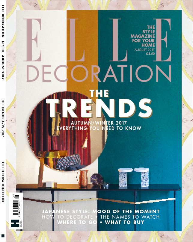 ELLE Decoration cover August 2017