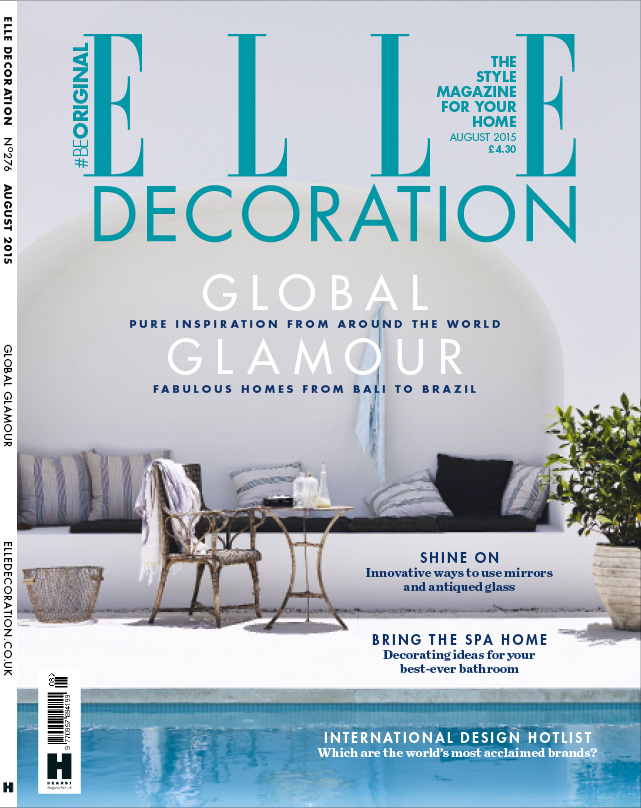 ELLE Decoration cover August 2015