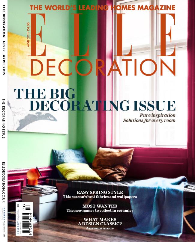 ELLE Decoration cover April 2015