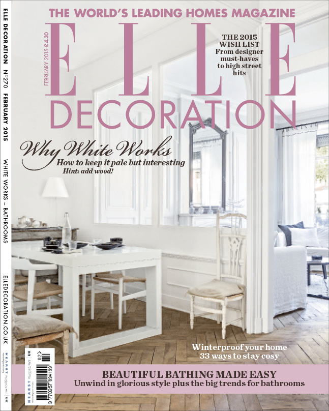 ELLE Decoration cover February 2015