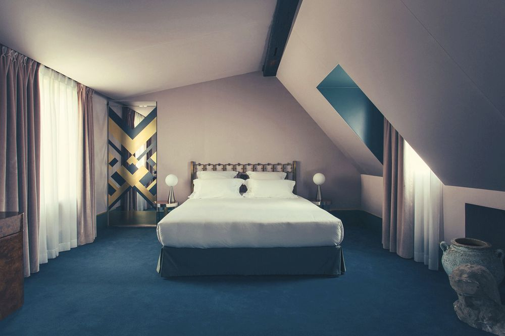 The Hotel Saint Marc, designed by Dimore Studio. Photographer: Philippe Servent