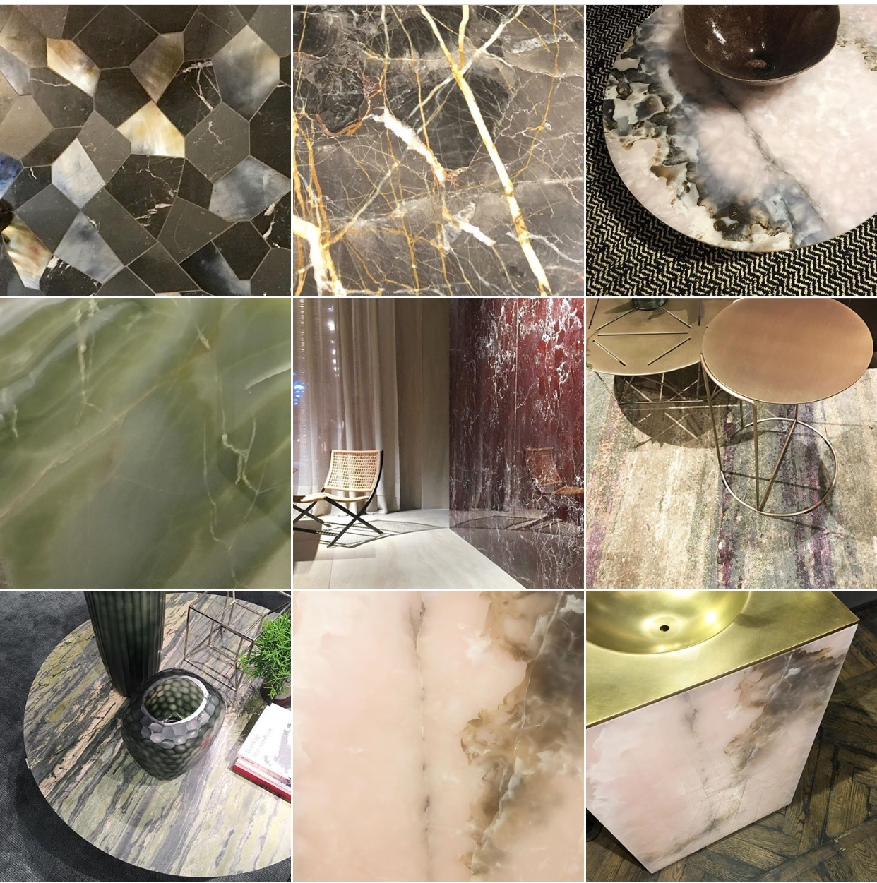Statement Stones moodboard via @michelleogundehin Instagram