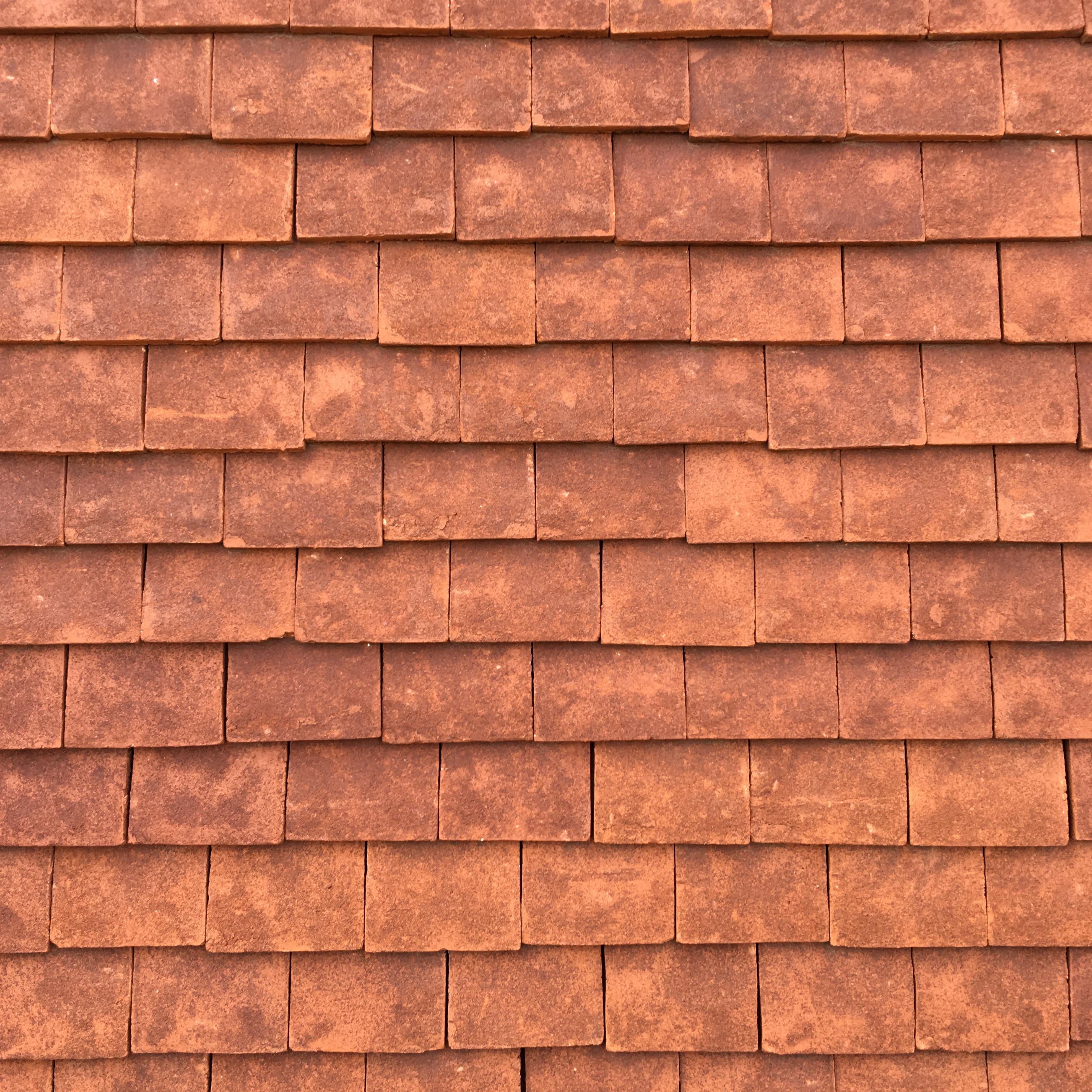 Hand made Terracotta roof tiles - MICHELLE OGUNDEHIN