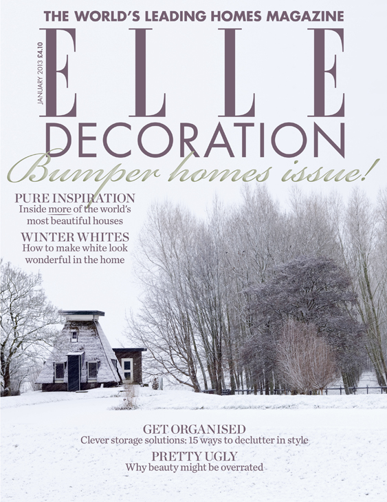 ELLE Decoration cover January 2013