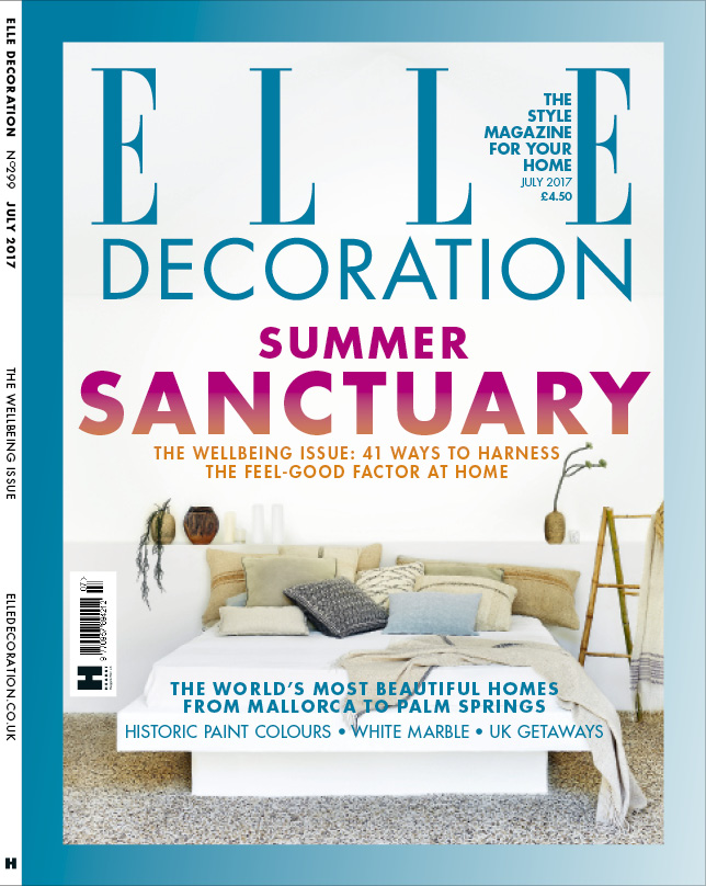 ELLE Decoration cover July 2017