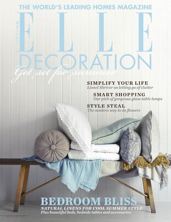 ELLE Decoration cover June 2013