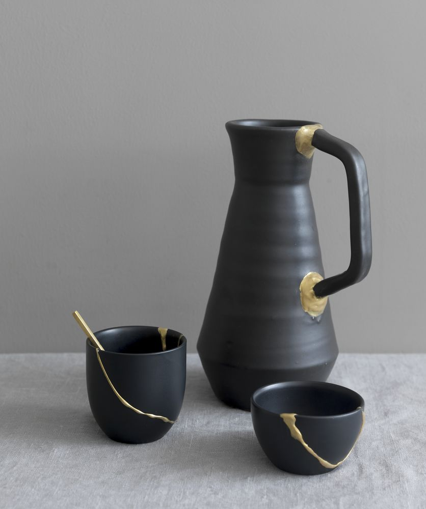 Kintsugi: the Japanese art of mending crockery with gold seams