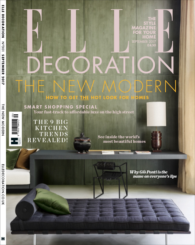 ELLE Decoration cover September 2017