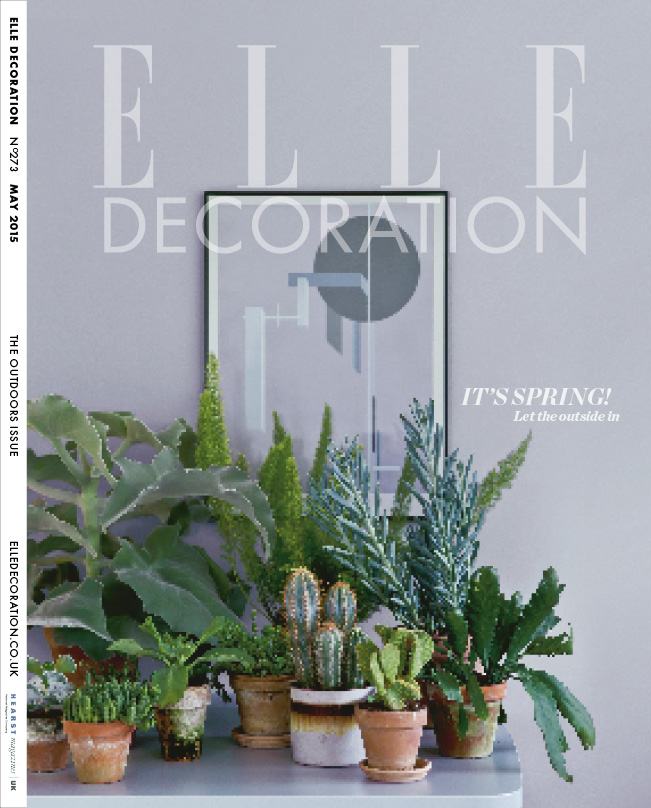ELLE Decoration Subscriber cover May 2015