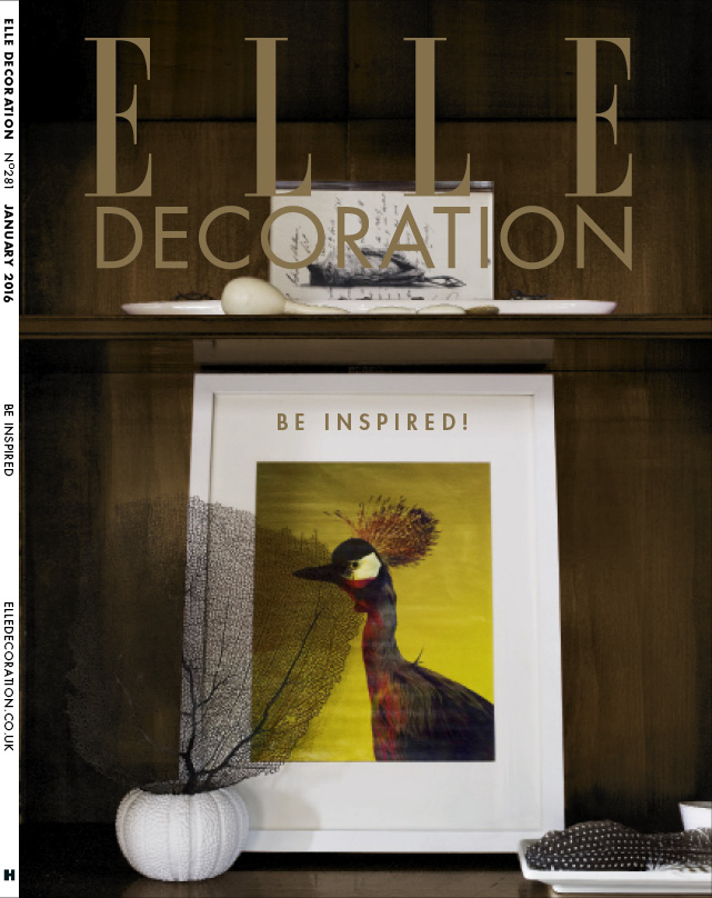 ELLE Decoration Subscriber cover January 2016
