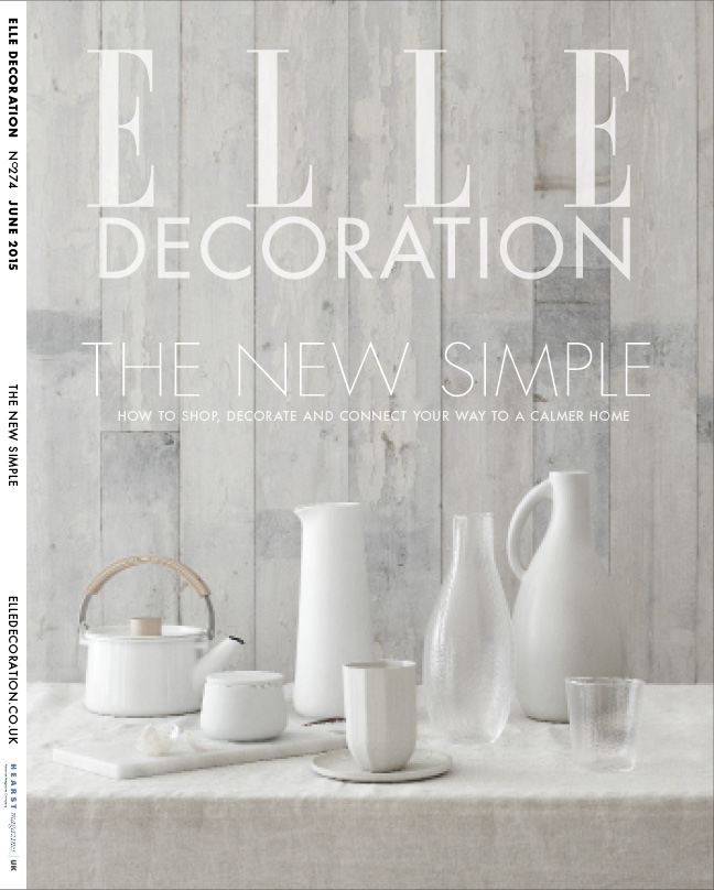 ELLE Decoration Subscriber Cover June 2015