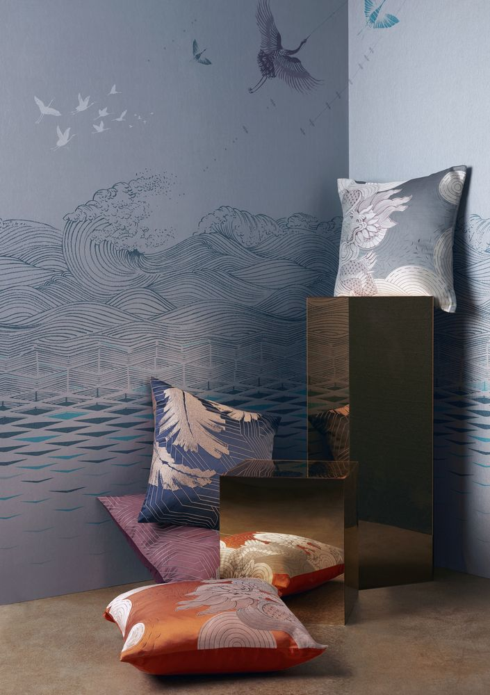 V&A Inspired, John Lewis designed Konoha & Kumo Cushions £45 each