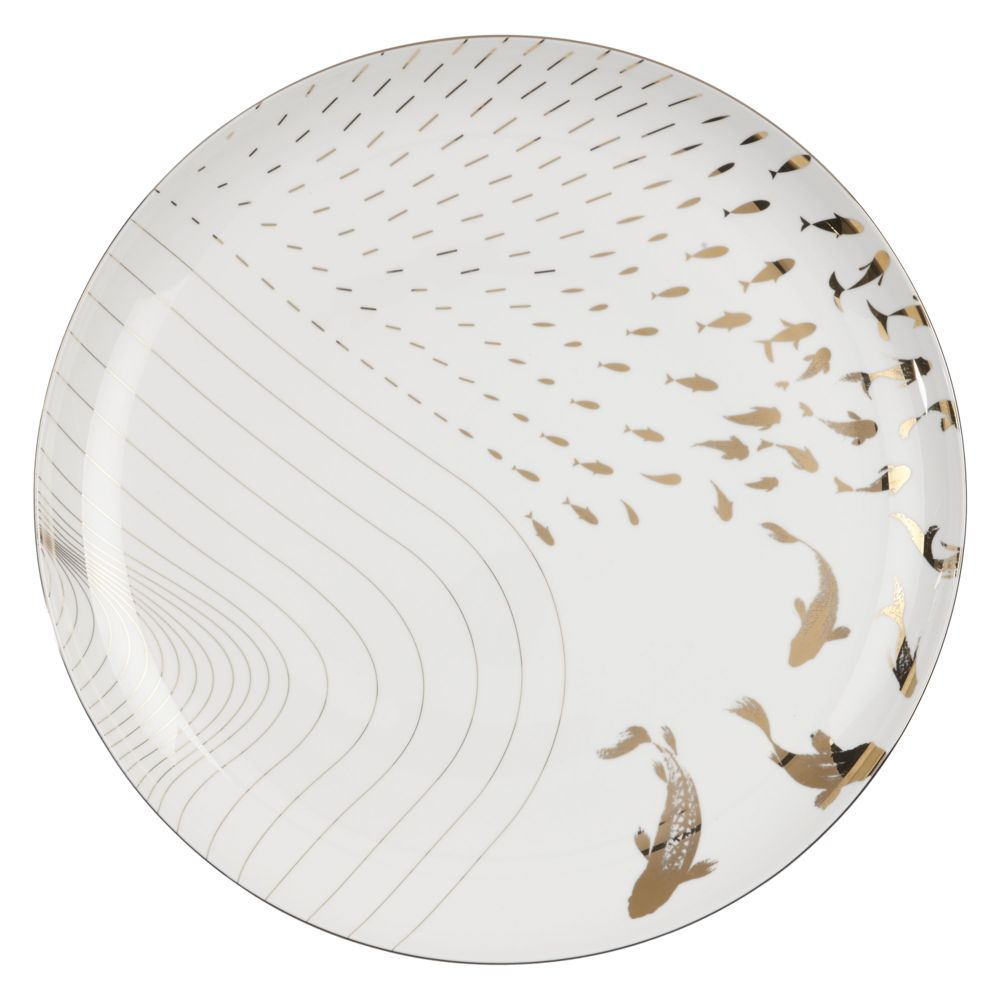 V&A Inspired, designed by John Lewis, Yama Side Plates, set of 4, £65