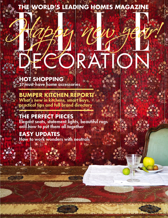 ELLE Decoration cover February 2013