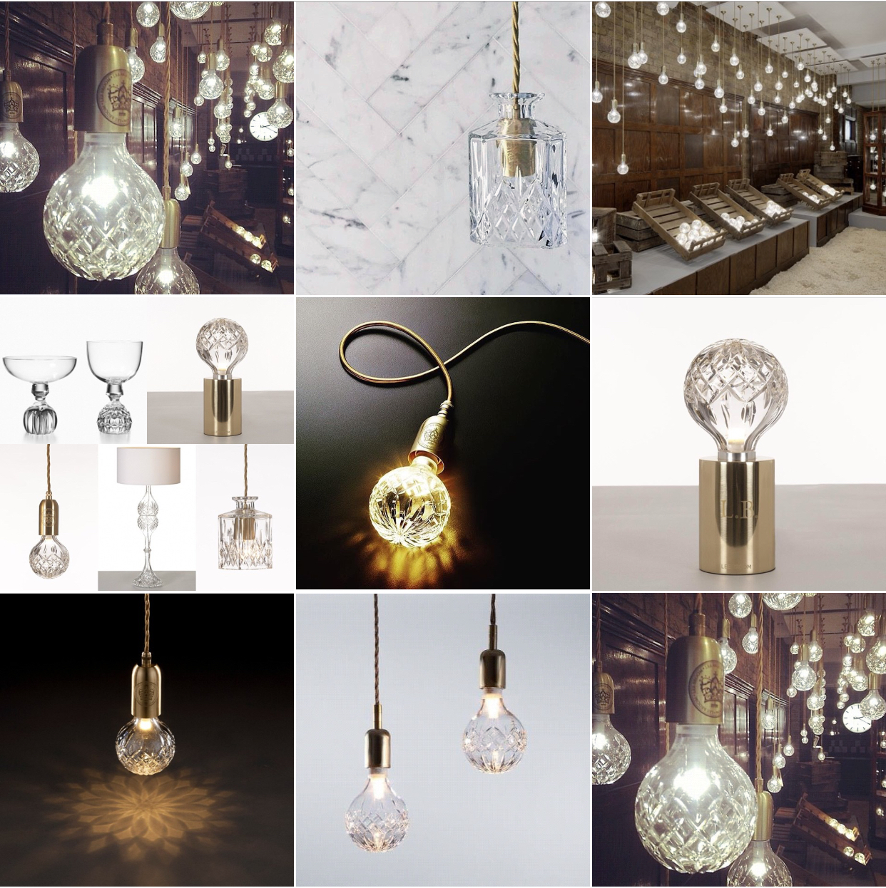 The Crystal Bulb light by Brit designer Lee Broom, 2012