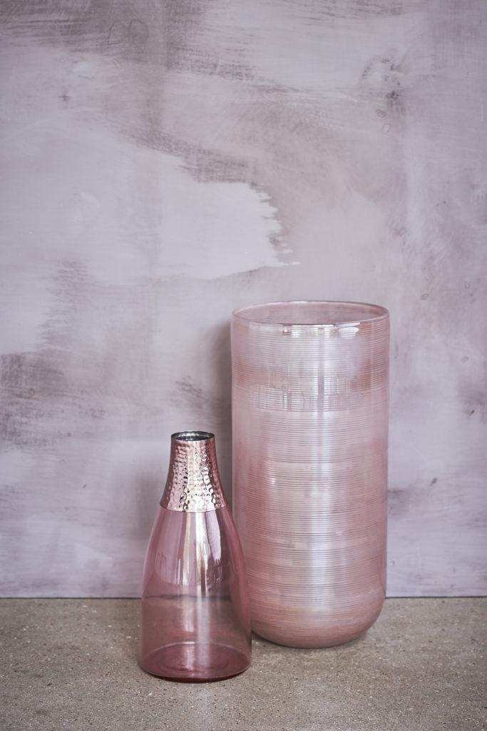 John Lewis Pink Vases Michelle Ogundehin