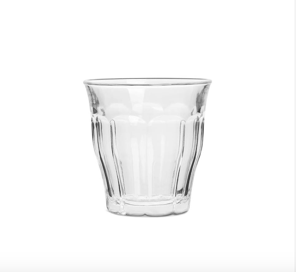 The Duralex Picardie glass tumbler