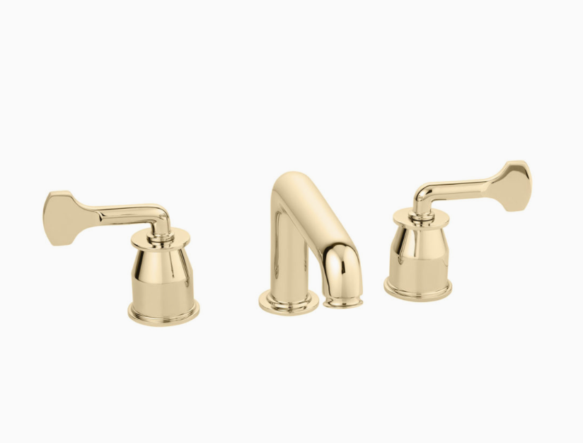The 'Leawood' 3-Hole Basin Mixer designed by Martin Brudnizki for Drummonds