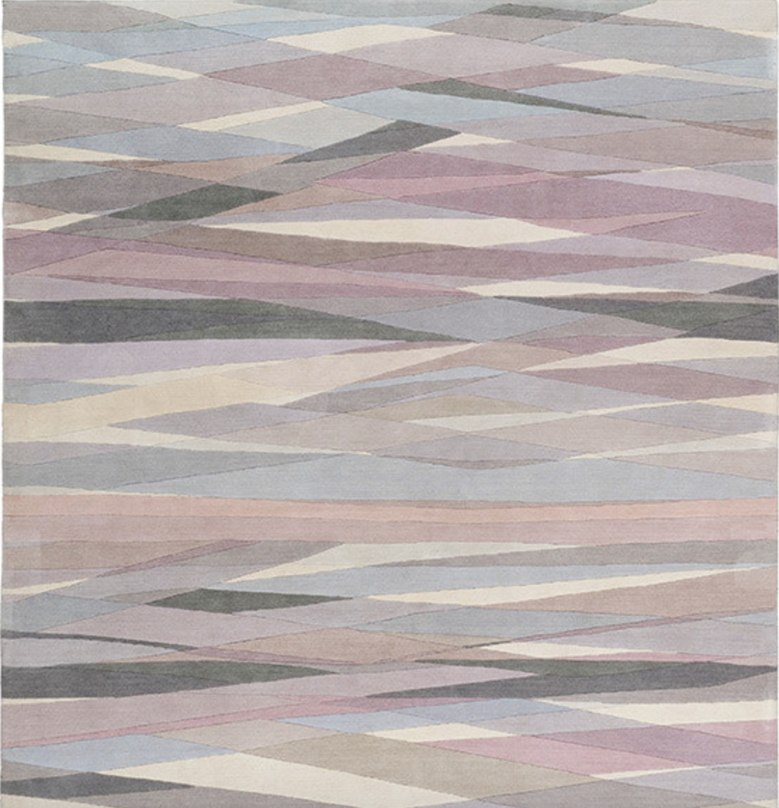 The New Neutrals: Paul Smith's 'Carnival Pale' version of his immensely popular 'Carnival' rug for the The Rug Company, now rendered in soft muted shades is definitely one for the wish list. From £1,522 for size (1.52 x 0.91m).