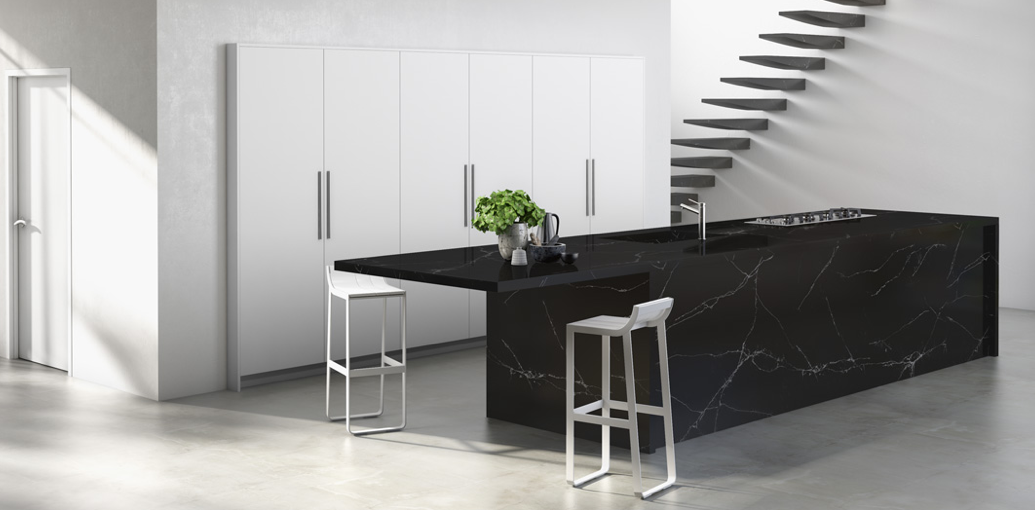 'Unique Marquina' from the Compac Surfaces 'Uniques' collection