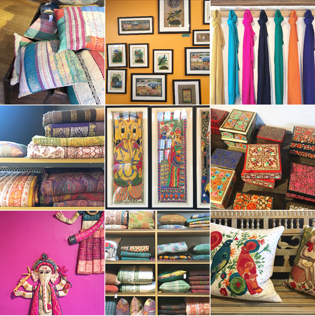 In Spring 2018, the buyers of Liberty London embarked on a major shopping trip to India: these are some of the goodies they found, which went straight onto the shop floor.