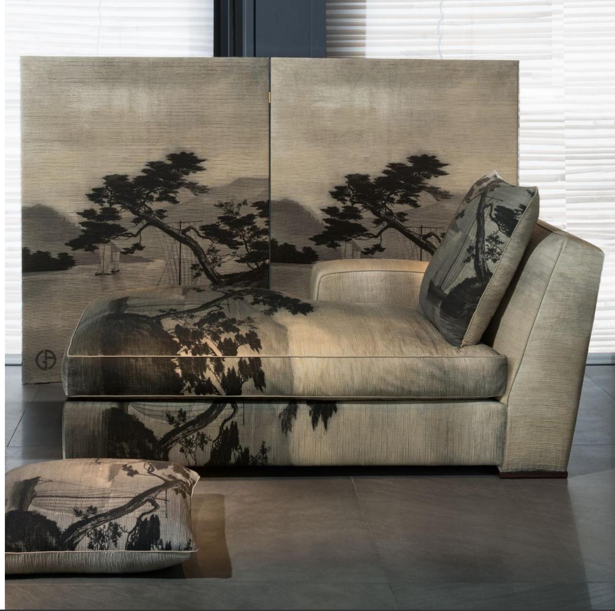 Armani Casa fabric by Rubelli, 2016