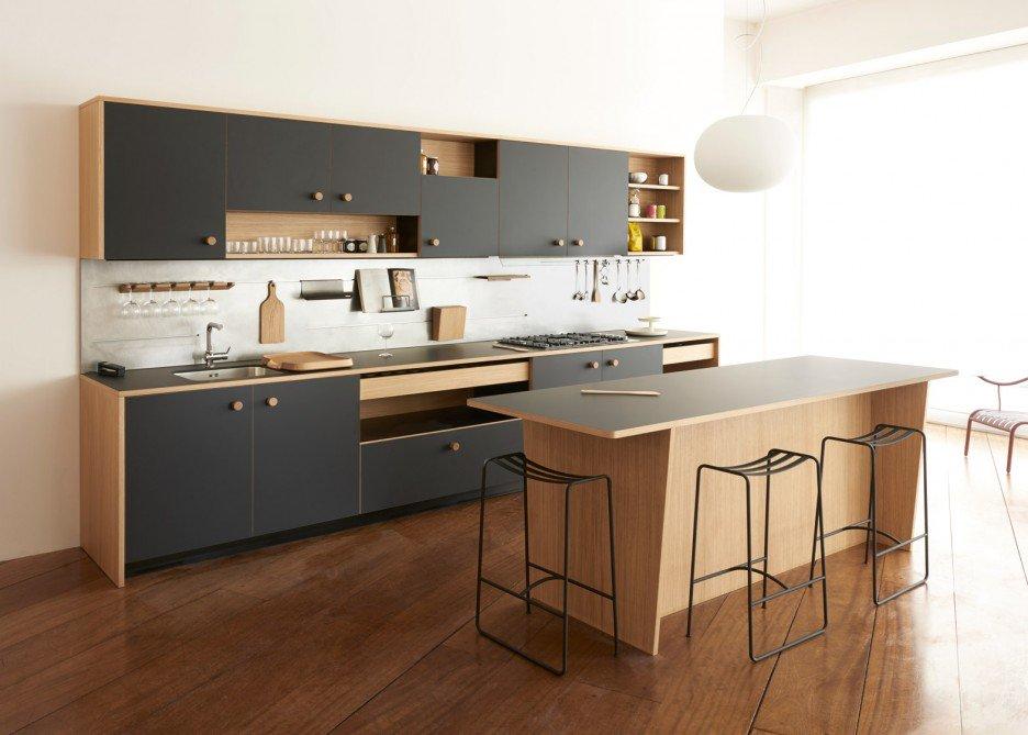 Oak Kitchen Cabinets Color Schemea